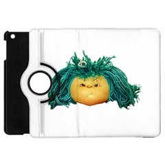 Angry Girl Doll Apple Ipad Mini Flip 360 Case by dflcprints
