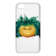 Angry Girl Doll Apple Iphone 5c Hardshell Case by dflcprints