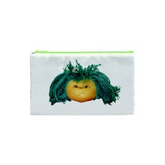Angry Girl Doll Cosmetic Bag (xs) by dflcprints