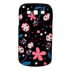 Pink Ladybugs And Flowers  Samsung Galaxy S Iii Classic Hardshell Case (pc+silicone) by Valentinaart
