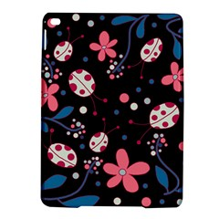 Pink Ladybugs And Flowers  Ipad Air 2 Hardshell Cases by Valentinaart