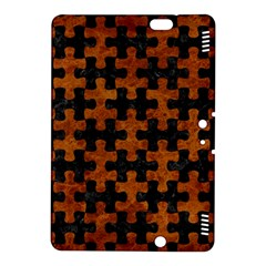 Puzzle1 Black Marble & Brown Marble Kindle Fire Hdx 8 9  Hardshell Case by trendistuff