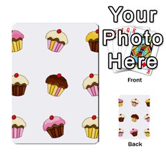 Colorful Cupcakes  Multi Purpose Cards (rectangle)  by Valentinaart