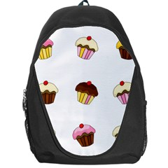 Colorful Cupcakes  Backpack Bag by Valentinaart