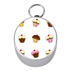 Colorful Cupcakes  Mini Silver Compasses by Valentinaart