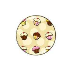 Colorful Cupcakes Pattern Hat Clip Ball Marker (4 Pack) by Valentinaart