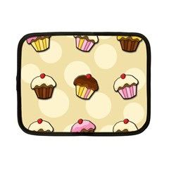 Colorful Cupcakes Pattern Netbook Case (small)  by Valentinaart