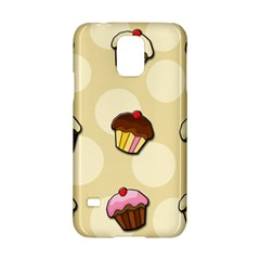 Colorful Cupcakes Pattern Samsung Galaxy S5 Hardshell Case  by Valentinaart