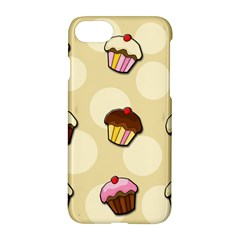 Colorful Cupcakes Pattern Apple Iphone 7 Hardshell Case