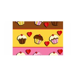 Love Cupcakes Satin Wrap by Valentinaart