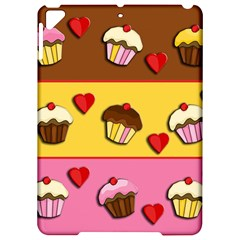 Love Cupcakes Apple Ipad Pro 9 7   Hardshell Case by Valentinaart
