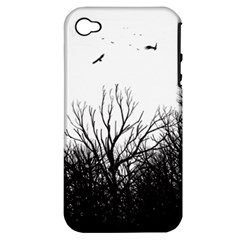 Apple Iphone 4/4s Hardshell Case (pc+silicone) by Brittlevirginclothing