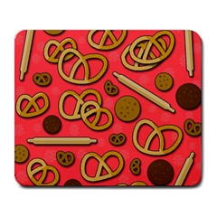 Bakery Large Mousepads by Valentinaart