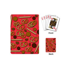 Bakery Playing Cards (mini)  by Valentinaart