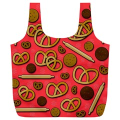 Bakery Full Print Recycle Bags (l)  by Valentinaart
