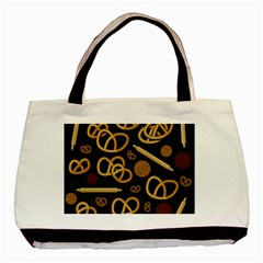 Bakery 2 Basic Tote Bag (two Sides) by Valentinaart
