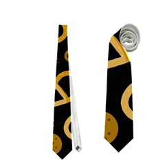 Bakery 2 Neckties (two Side)  by Valentinaart