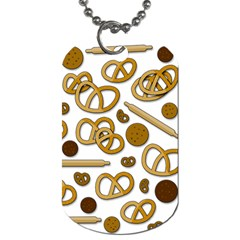 Bakery 3 Dog Tag (two Sides) by Valentinaart
