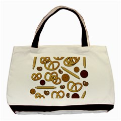 Bakery 3 Basic Tote Bag by Valentinaart