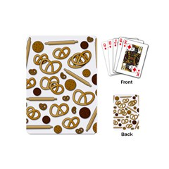 Bakery 3 Playing Cards (mini)  by Valentinaart