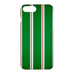 Green Line Apple Iphone 7 Plus Hardshell Case