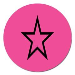 Star Magnet 5  (round)
