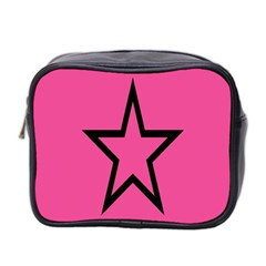 Star Mini Toiletries Bag 2 Side by AnjaniArt