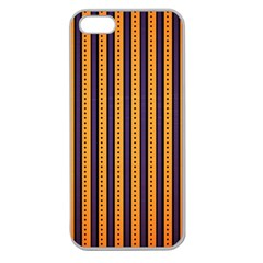 Printable Halloween Paper Apple Seamless Iphone 5 Case (clear) by AnjaniArt