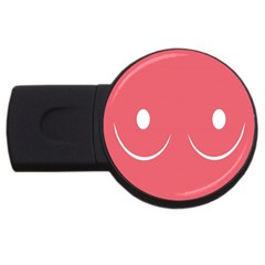 Sign Usb Flash Drive Round (4 Gb)  by AnjaniArt