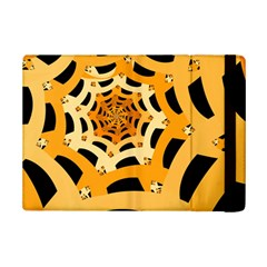Spider Helloween Yellow Ipad Mini 2 Flip Cases by AnjaniArt