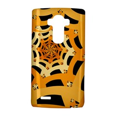 Spider Helloween Yellow Lg G4 Hardshell Case by AnjaniArt