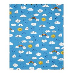 White Clouds Shower Curtain 60  X 72  (medium)  by AnjaniArt