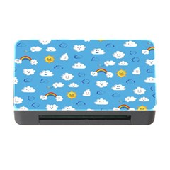 White Clouds Memory Card Reader With Cf by AnjaniArt