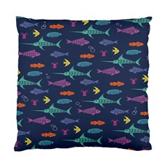 Twiddy Tropical Fish Pattern Standard Cushion Case (one Side) by AnjaniArt