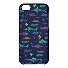 Twiddy Tropical Fish Pattern Apple Iphone 5c Hardshell Case by AnjaniArt