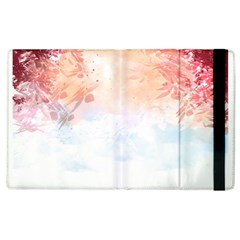 Faded Pink Nature  Apple Ipad 2 Flip Case by Brittlevirginclothing