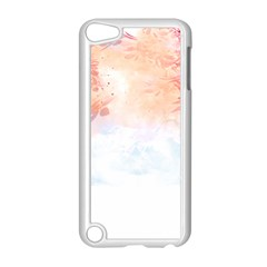 Faded Pink Nature  Apple Ipod Touch 5 Case (white) by Brittlevirginclothing