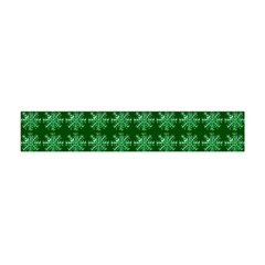 Snowflakes Square Flano Scarf (Mini) by Zeze