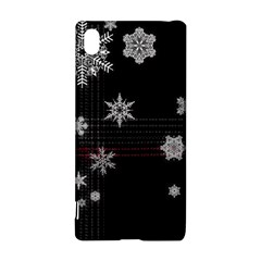 Shining Snowflakes Sony Xperia Z3+ by Brittlevirginclothing
