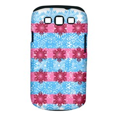Pink Snowflakes Pattern Samsung Galaxy S Iii Classic Hardshell Case (pc+silicone) by Brittlevirginclothing