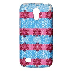 Pink Snowflakes Pattern Galaxy S4 Mini by Brittlevirginclothing