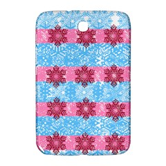 Pink Snowflakes Pattern Samsung Galaxy Note 8 0 N5100 Hardshell Case  by Brittlevirginclothing