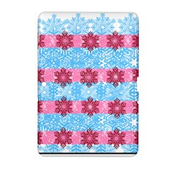 Pink Snowflakes Pattern Samsung Galaxy Tab 2 (10 1 ) P5100 Hardshell Case  by Brittlevirginclothing