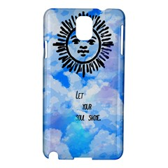 Let Your Sun Shine  Samsung Galaxy Note 3 N9005 Hardshell Case by Brittlevirginclothing