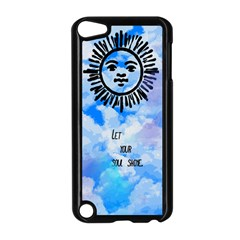 Let Your Sun Shine  Apple Ipod Touch 5 Case (black) by Brittlevirginclothing