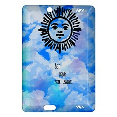 Let Your Sun Shine  Amazon Kindle Fire Hd (2013) Hardshell Case by Brittlevirginclothing