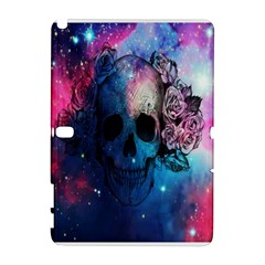 Colorful Space Skull Pattern Galaxy Note 1 by Brittlevirginclothing