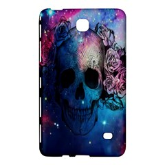 Colorful Space Skull Pattern Samsung Galaxy Tab 4 (7 ) Hardshell Case  by Brittlevirginclothing