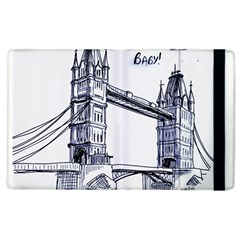 Lovely London Baby  Apple Ipad 2 Flip Case by Brittlevirginclothing