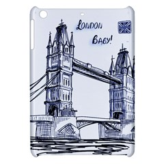 Lovely London Baby  Apple Ipad Mini Hardshell Case by Brittlevirginclothing